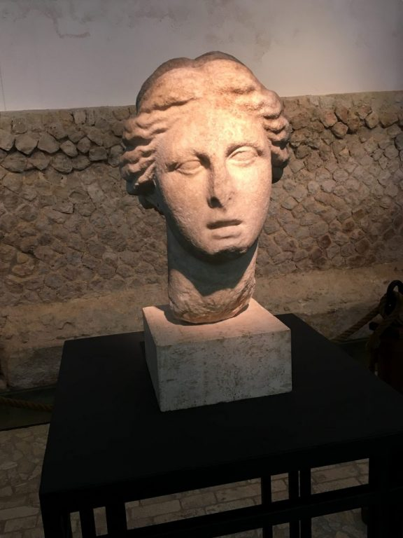 Head of a statue of Circe