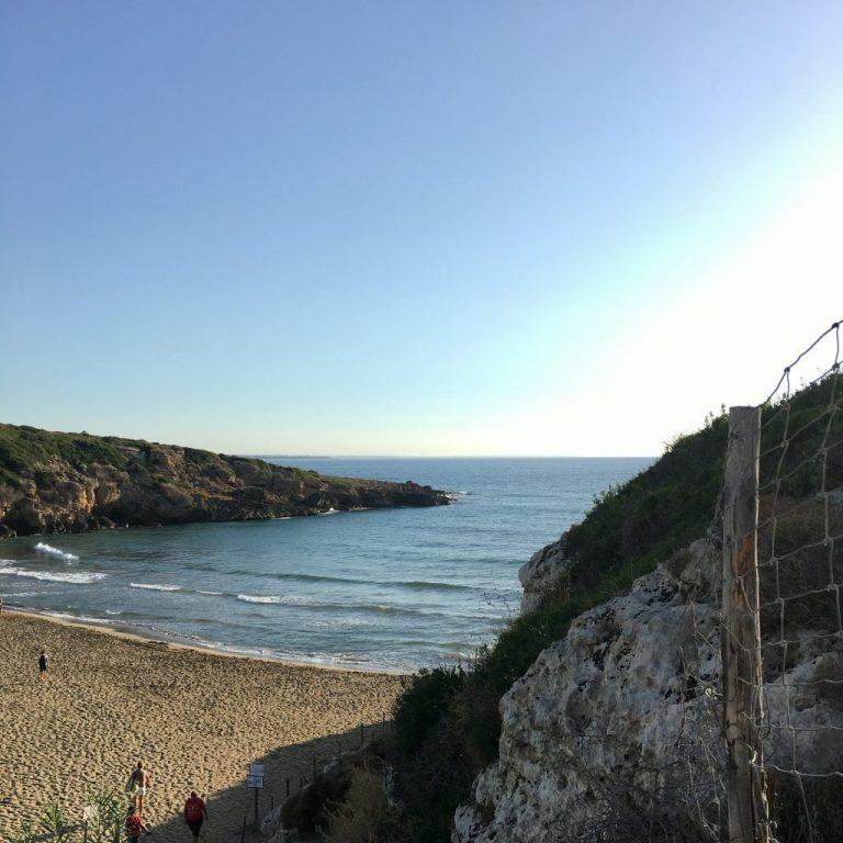 The beach of Cala Mosche