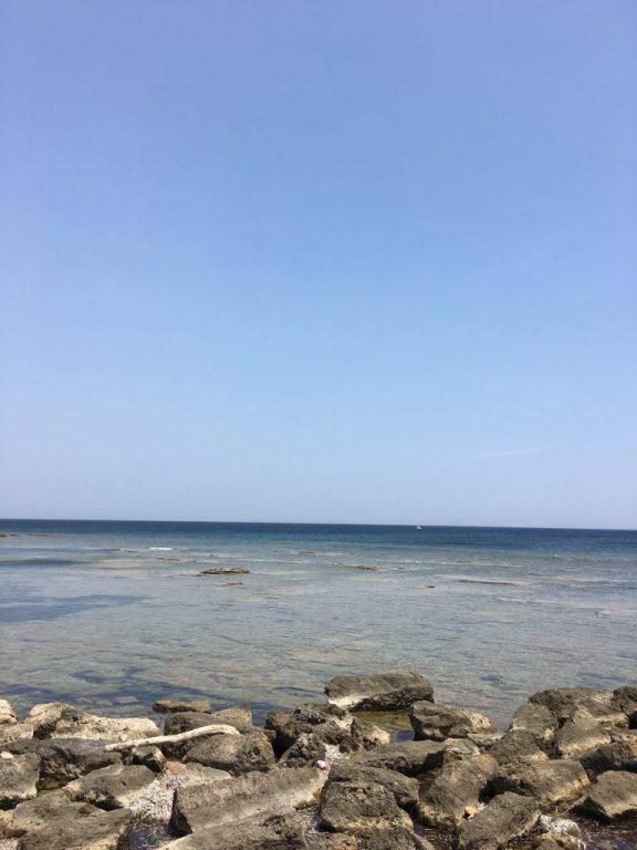 Sea in Sicily