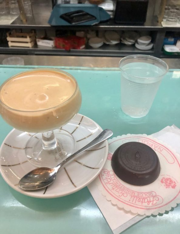 Cold coffee with Ministeriale