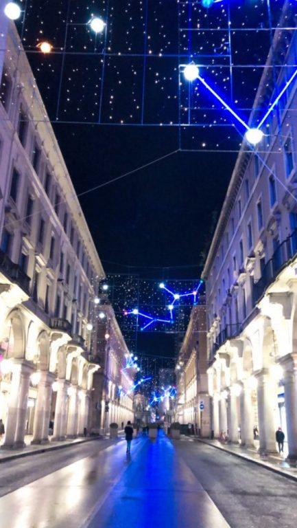 Luci d'Artista.  Torino