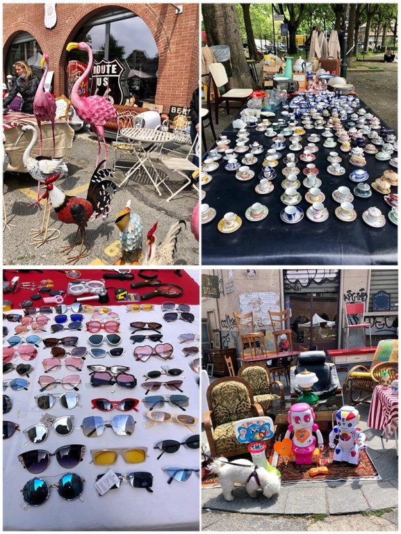 Do you love vintage and flea markets? Then, you must absolutely plan a visit to Torino where every second Sunday you will find a great flea market called Gran Balon.