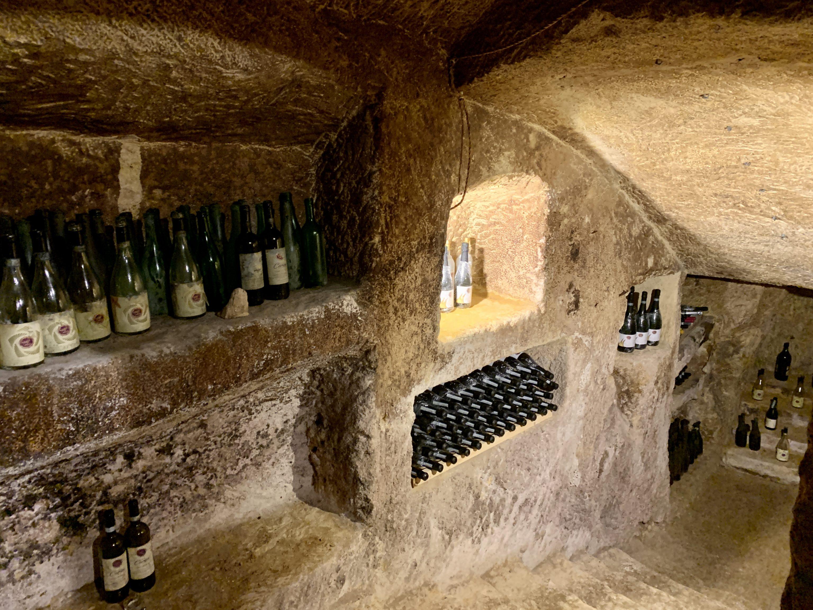 Infernòt of the wine producing company Cinque Quinti