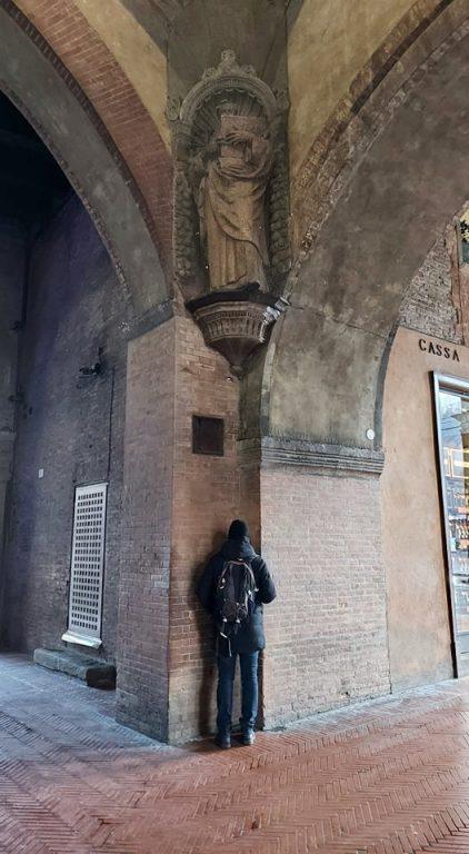 Arcades of Voltone del Podestà in Bologna